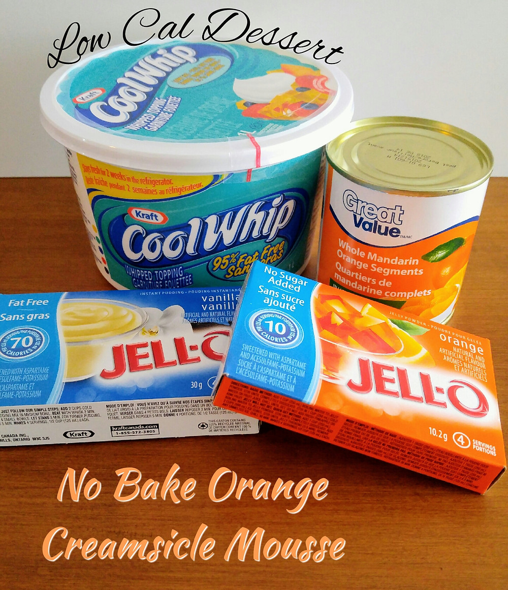Orange Creamsicle ingredient list