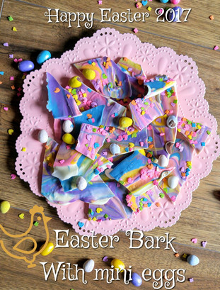 Easter Bark with Mini Eggs
