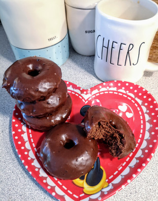 Baked Coca Cola Donuts
