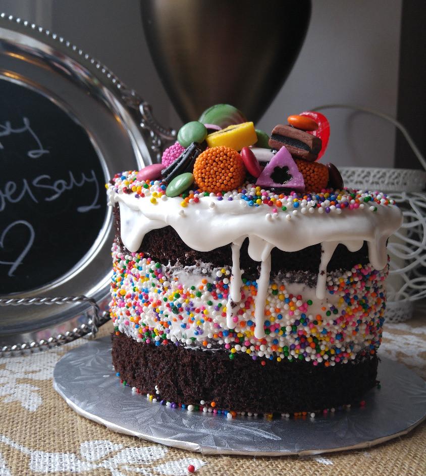 always room 4 cake sprinkle cake