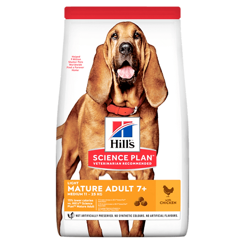 Hill's Adult Mature 7+ Medium Light Chicken  kg