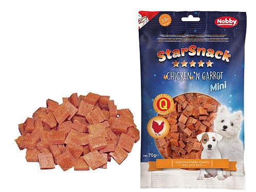 STARSNACK Mini Poulet et Carotte