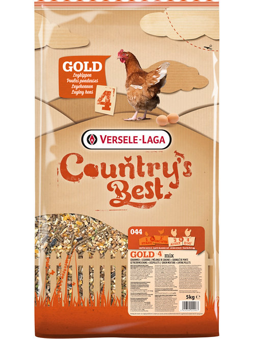 COUNTRY'S BEST Gold 4 mix Mélange pondeuse 20 kg
