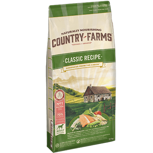 COUNTRY FARMS Classic Adulte Saumon 2.5 kg