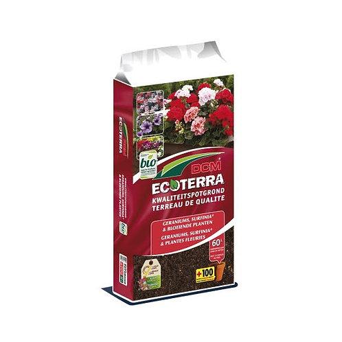 DCM Ecoterra Geranium, Surfina & plantes fleuries 60L