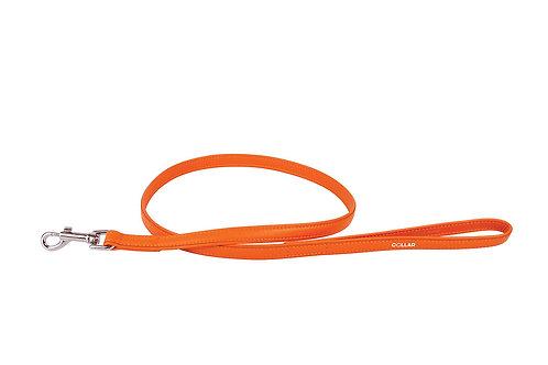 WAUDOG Laisse cuir orange 122 cm 12 mm