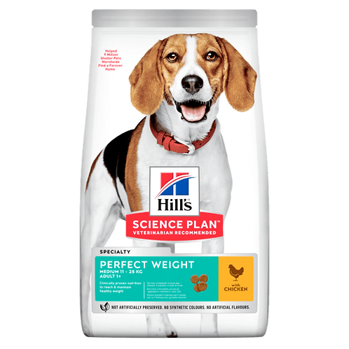 Hill's Adult Perfect Weight Chicken 12 kg