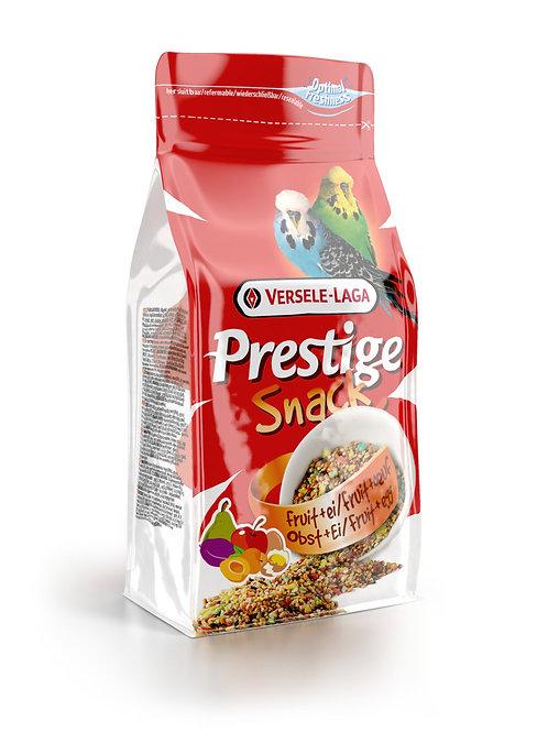 PRESTIGE Snack Perruches Fruits&Oeufs 125g
