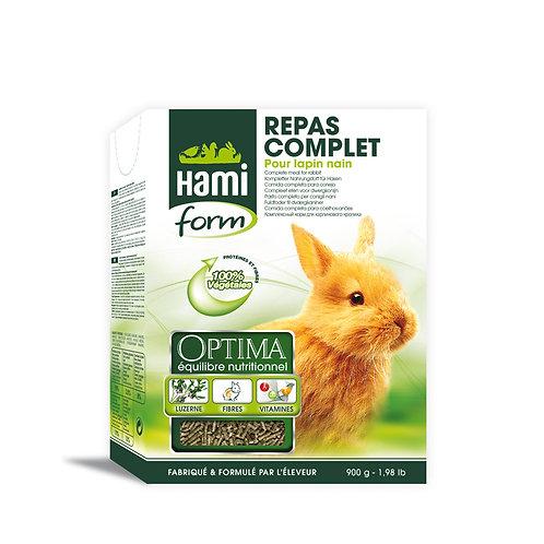 HAMIFORM Optima Repas Complet Lapin Nain 900g