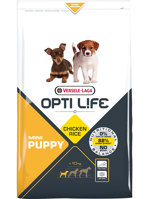 OPTILIFE Mini Puppy 2.5 kg