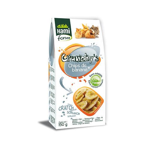 HAMIFORM Crunchy's Chips de Banane 150g