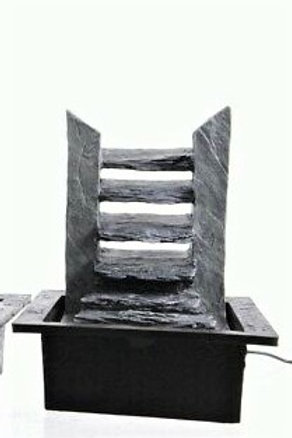 LUMINEO Fontaine Intérieure 19x21x27 cm