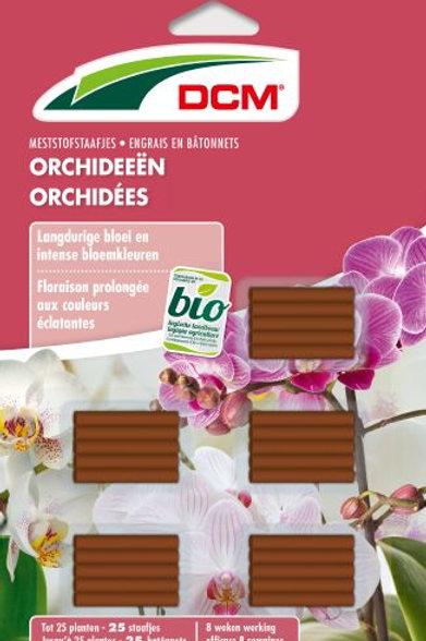 DCM Engrais en Bâtonnets Orchidée (25)