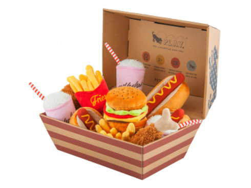 JOUET Chien FRITES American Classic