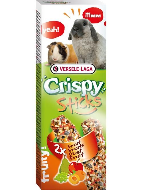 CRISPY Sticks Lapin&Cobaye Fuits 2 pièces