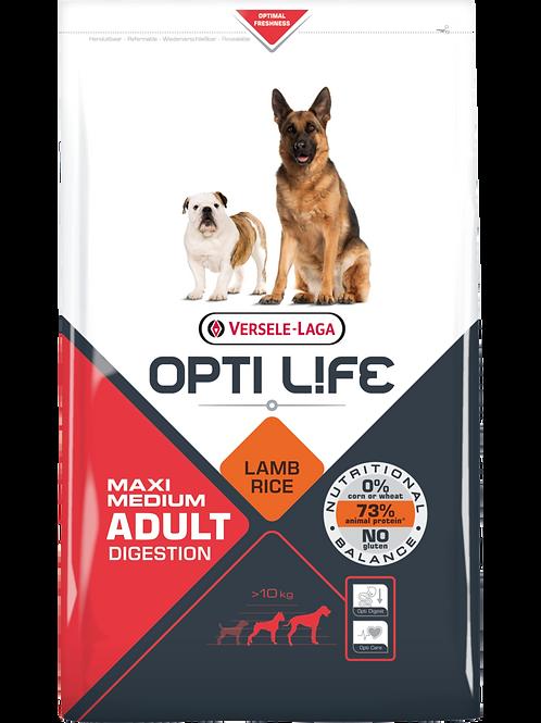OPTILIFE Maxi&Medium Digestion 1 kg