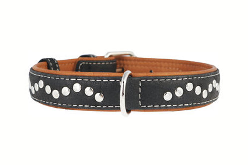 WAUDOG Collier Soft Noir 38-49 cm 25 mm