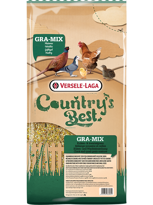COUNTRY'S BEST gra-mix Mélange Poussins&Cailles 4 kg