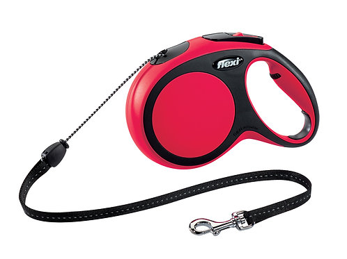 FLEXI Cordon 8m M Rouge