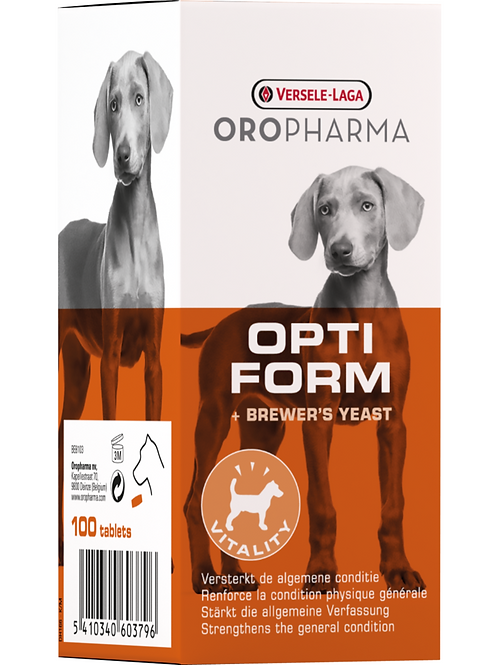 OROPHARMA Opti Form Chien 100 Tablettes