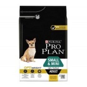 PROPLAN Small&Mini Adult Light/Sterilised 3 kg