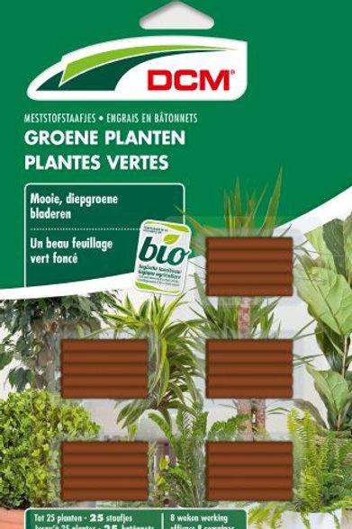 DCM Engrais en Bâtonnets Plantes Vertes (25)