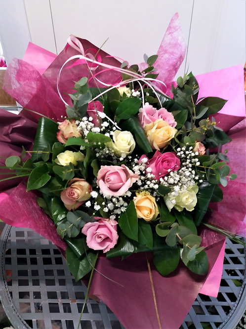 BOUQUET Romantique de Roses
