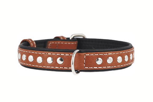 WAUDOG Collier Soft Brun 27-36 cm 15 mm