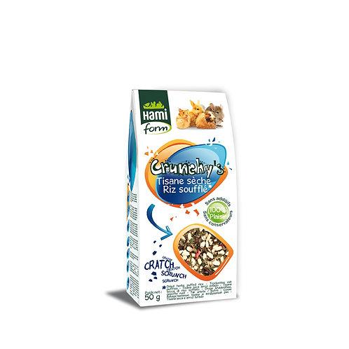 HAMIFORM Crunchy's Tisane Sèche Riz Soufflé 50g
