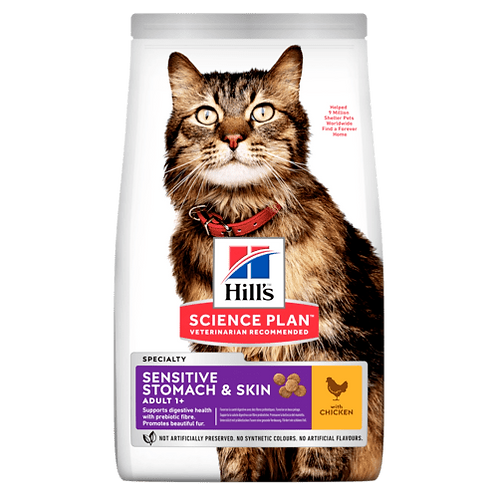 Hill's Adult Sensitive Stomach&Skin Chicken 7 kg