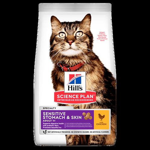 Hill's Adult Sensitive Stomach&Skin Chicken 1.5 kg