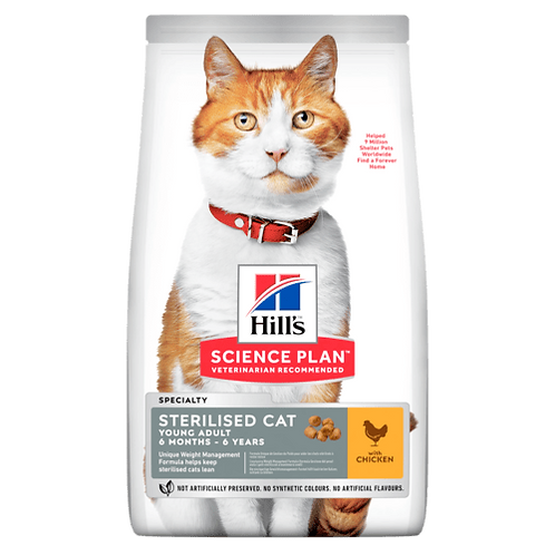 Hill's Young Adult sterilised Chicken 1.5 kg