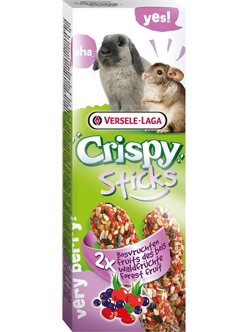 CRISPY Sticks Lapin&Chinchilla Fruits des Bois 2 pièces
