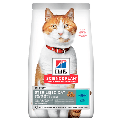 Hill's Young Adult Sterilised Tuna 1.5 kg
