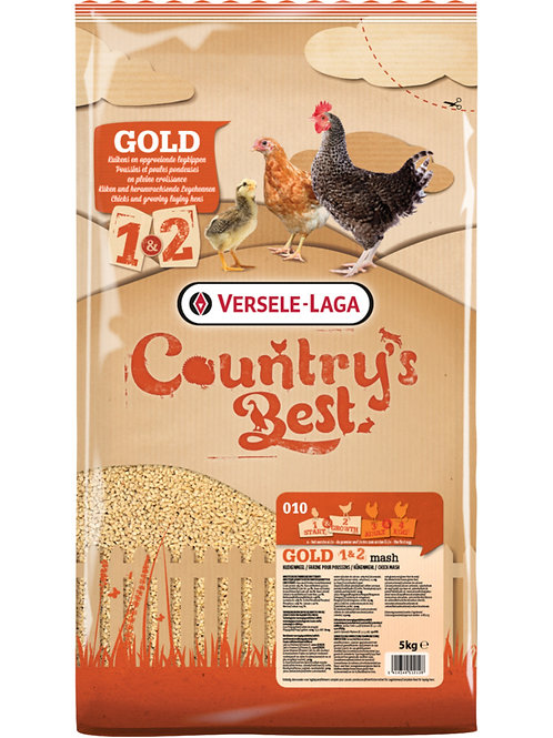 COUNTRY'S BEST Gold 1&2 Mash Farine Poussin 5 kg