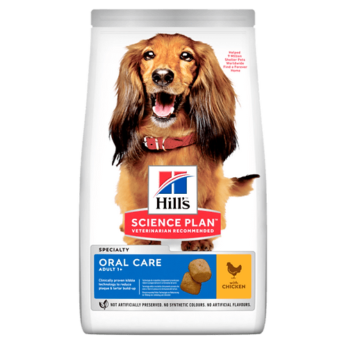 Hill's Adult oral care chicken 12kg