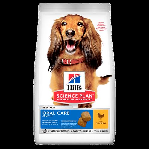 Hill's Adult Medium Oral Care Chicken 2 kg