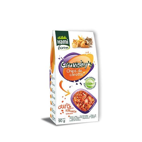 HAMIFORM Crunchy's Chips de Carotte 90g