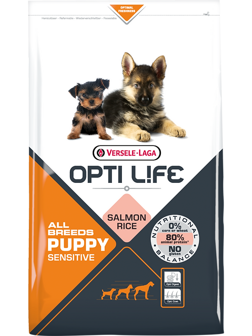OPTILIFE All Breeds Puppy Sensitive 2.5 kg