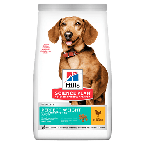 Hill's Adult S&M Perfect Weight Chicken 1.5 kg