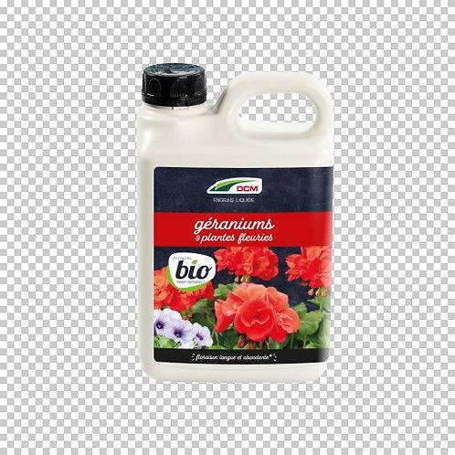 DCM Engrais Liquide Géranium & Plantes Fleuries 2.5L