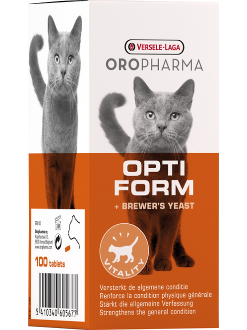 OROPHARMA Opti Form Chat 100 tablettes