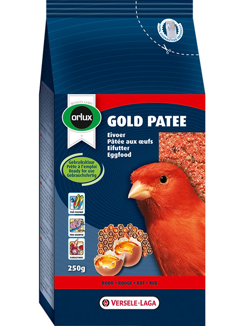 ORLUX Gold Patee Canaris Rouge 250g