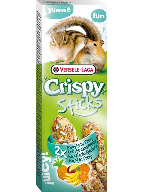 CRISPY Sticks Hamster&Écureuil Fruits Exotiques 2 pièces