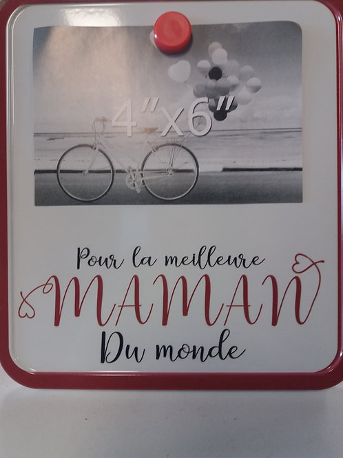 TABLEAU aimanté 'Pour la meilleure maman du monde'