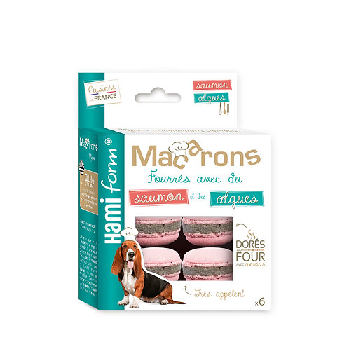 HAMIFORM Macarons Saumon&Algues x6