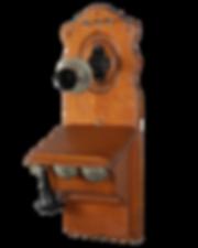 rare antique wall phone