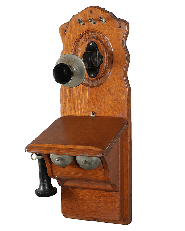 rare antique wall phone