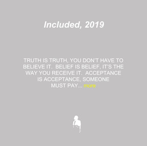 Included, 2019