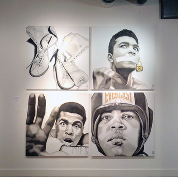 Janette Kennedy Gallery - Dallas, TX April, 2016